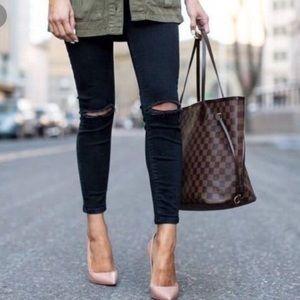 Louise Vuitton purse Damier red + bag organizer N